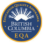 education quality assurance in British Columbia - Logo