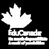 edu canada white logo