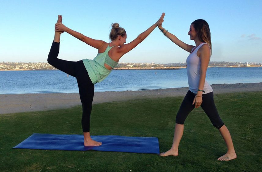 vancouver outdoor yoga event